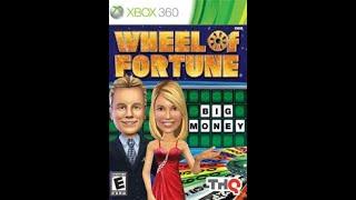 XBox 360 Wheel of Fortune 6th Run Game #1