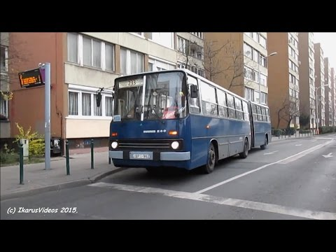 Budapesti buszok/Buses at Budapest - 2015 [HD]