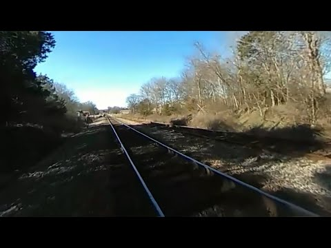 Body camera records moment officer is hit by train