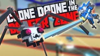 בואו נשחק - Clone Drone in the Danger Zone - המשחק רק הולך ומשתפר!