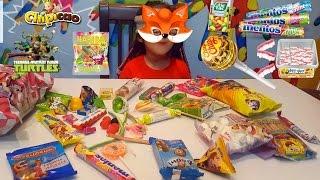 Челлендж  Никуся угадывает разные сладости и вкусняшки с закрытыми глазами, Candy's challenge