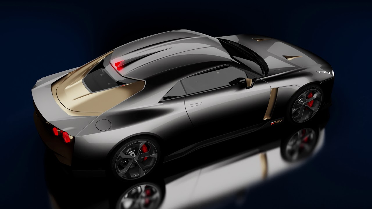 Nissan GT-R 50 by italdesign - YouTube