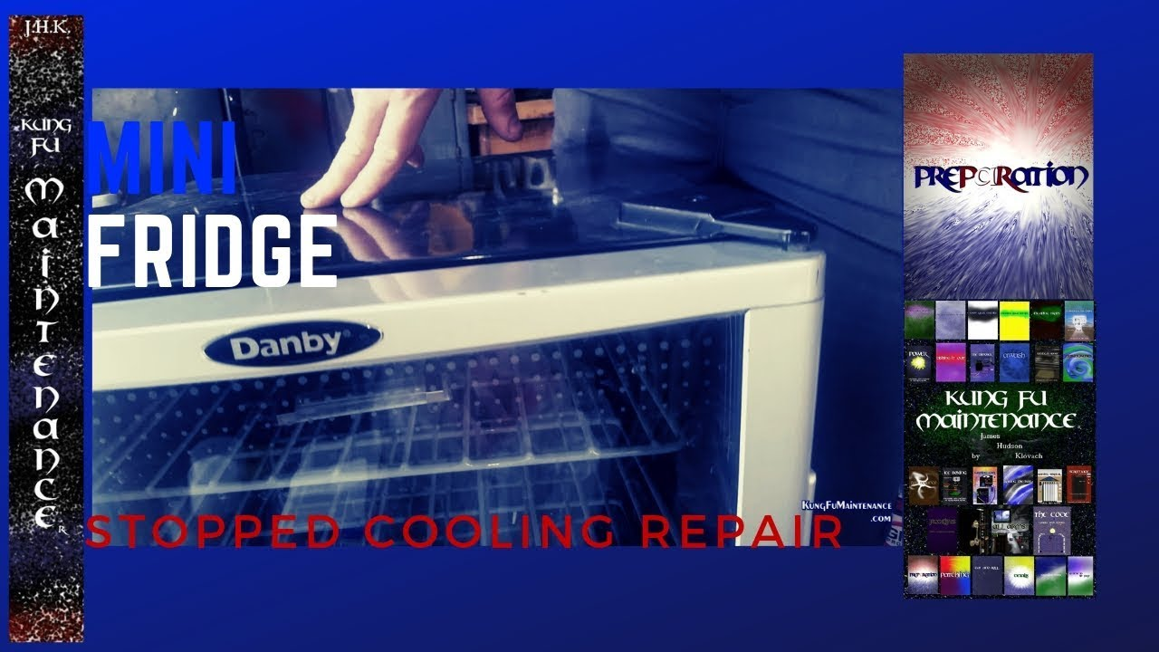 Little Mini Fridge Compressor Not Turning On Lights Work But Not Cooling No  Humming Easy Fix