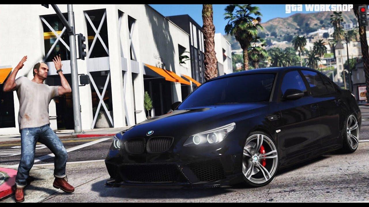 C Max Grand 2017 >> GTA 5 MOD | BMW M5 E60 + Engine Sound MOD! | ENB PC - 60 FPS | GTA V - YouTube