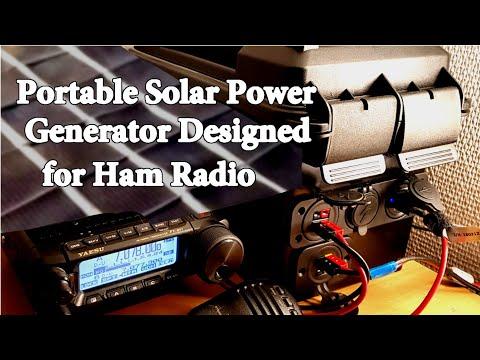 DIY Portable Solar Generator off grid Grid Down SHTF Intro