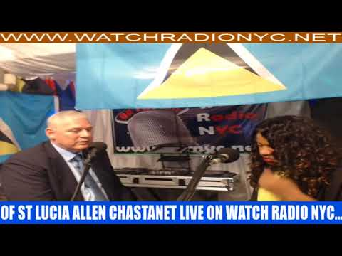 Prime Minister Hon Allen Chastanet's appearance on Watch Radio NYC