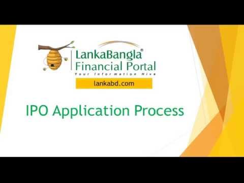 Online IPO Application Process