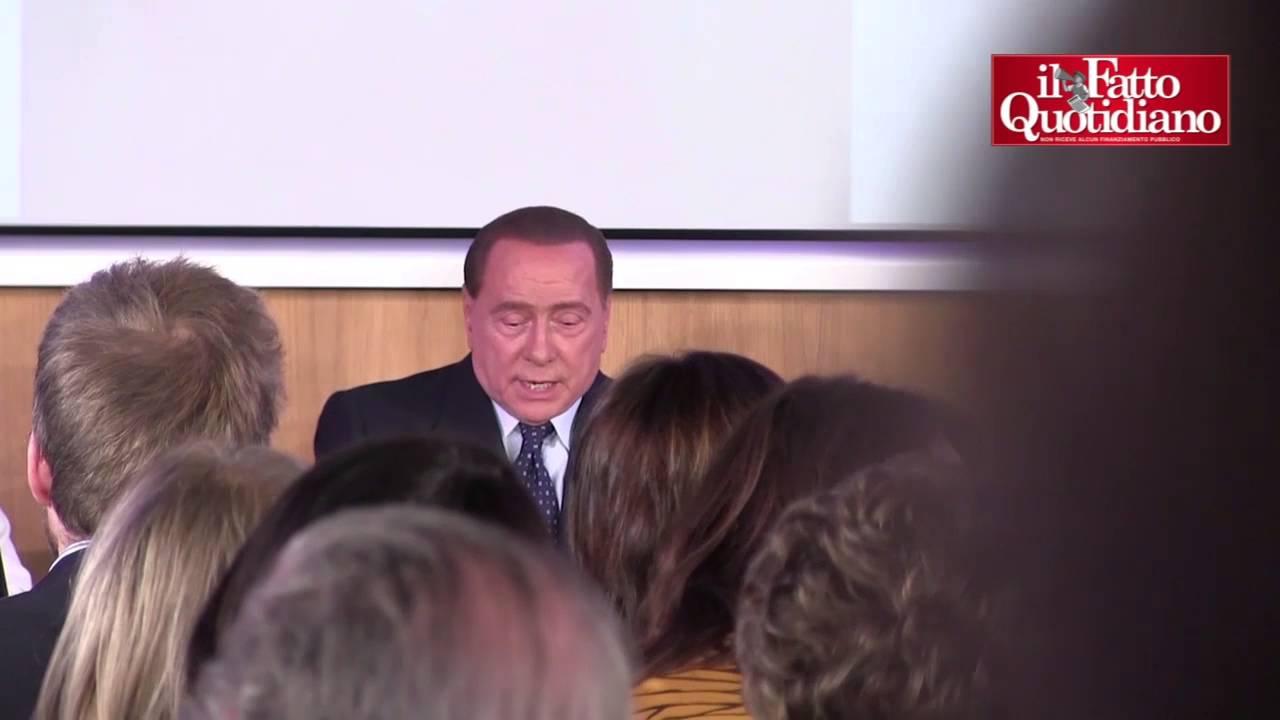 """Silvio Berlusconi: """"Gli italiani non mi meritano. Sono arrivato a questa conclusione"""""""