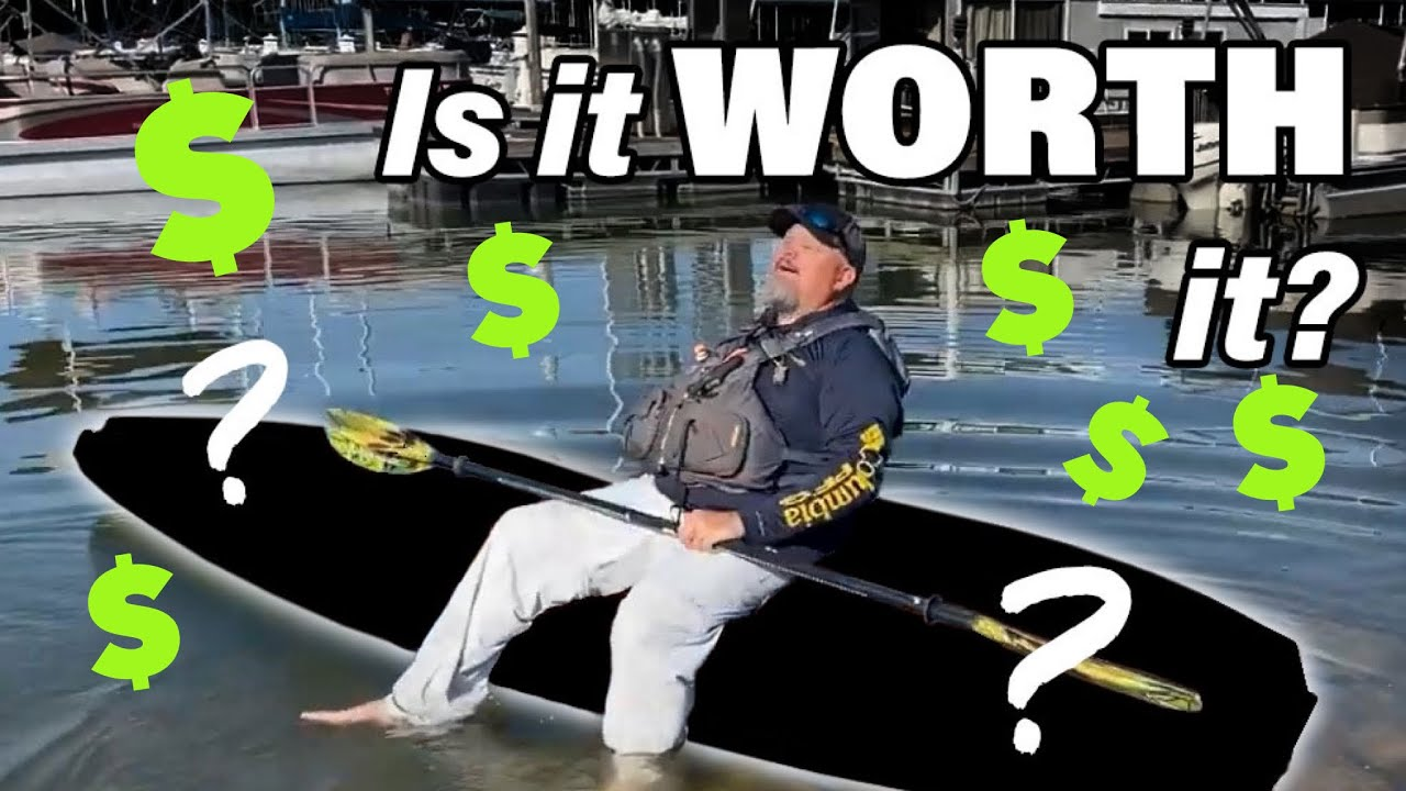 World's MOST EXPENSIVE Fishing Kayak   FIRST LOOK