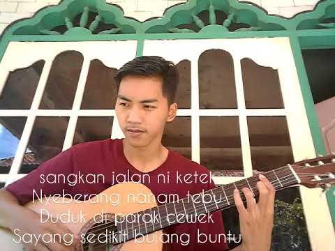 BUJANG BUNTU - TEMBANG GITAR TUNGGAL (palembang)