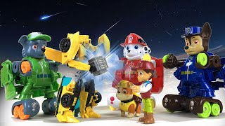Paw Patrol TRANSFORMERS Save Bumblebee || Playtime with Keith's Toy Box