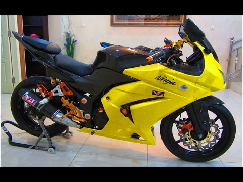 Video Modifikasi Motor Kawasaki Ninja 250 Keren Terbaru Youtube