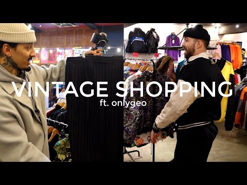 TRIP TO THE THRIFT | Vintage Shopping Ft. OnlyGeo | Men's Fashion | Daniel Simmons