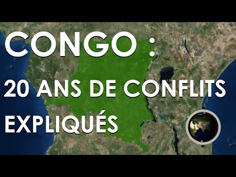 CONGO : 20 ANS DE CONFLITS EXPLIQUÉS