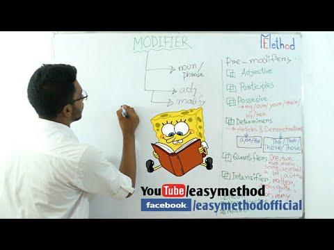 Modifier  Part-1 English-2 Class 11-12