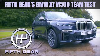 BMW X7 M50D Team Test Fifth Gear