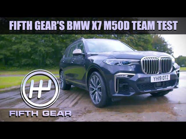 BMW X7 M50D Team Test   Fifth Gear