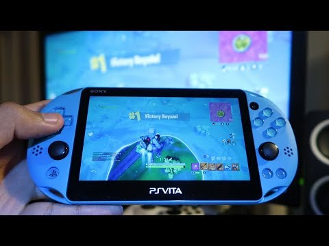 playing fortnite on ps vita super impossible to play - fortnite on psp