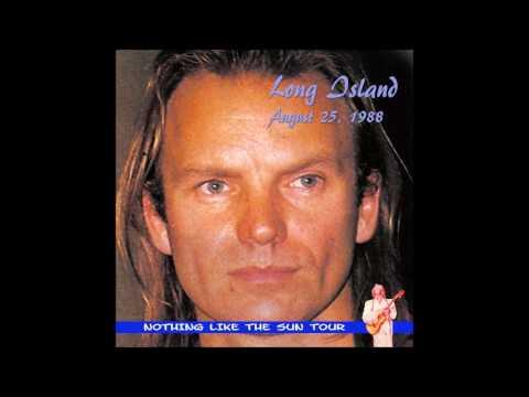 "Sting- Long Island, NY, ""Jones Beach Amphitheater"" 8-25-1988 (FULL AUDIO SHOW)"