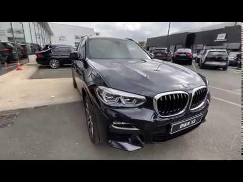 BMW X3 xDrive 30d 265ch BVA8 M Sport Mai 2020 - YouTube