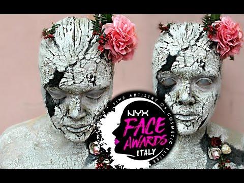 Soul Stone ❤ Statue MakeUp✿  | NYX FACE AWARDS ITALIA 2017