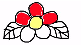 DRAWING FLOWER USING DIGITAL IPHONE APPS MUST WATCH