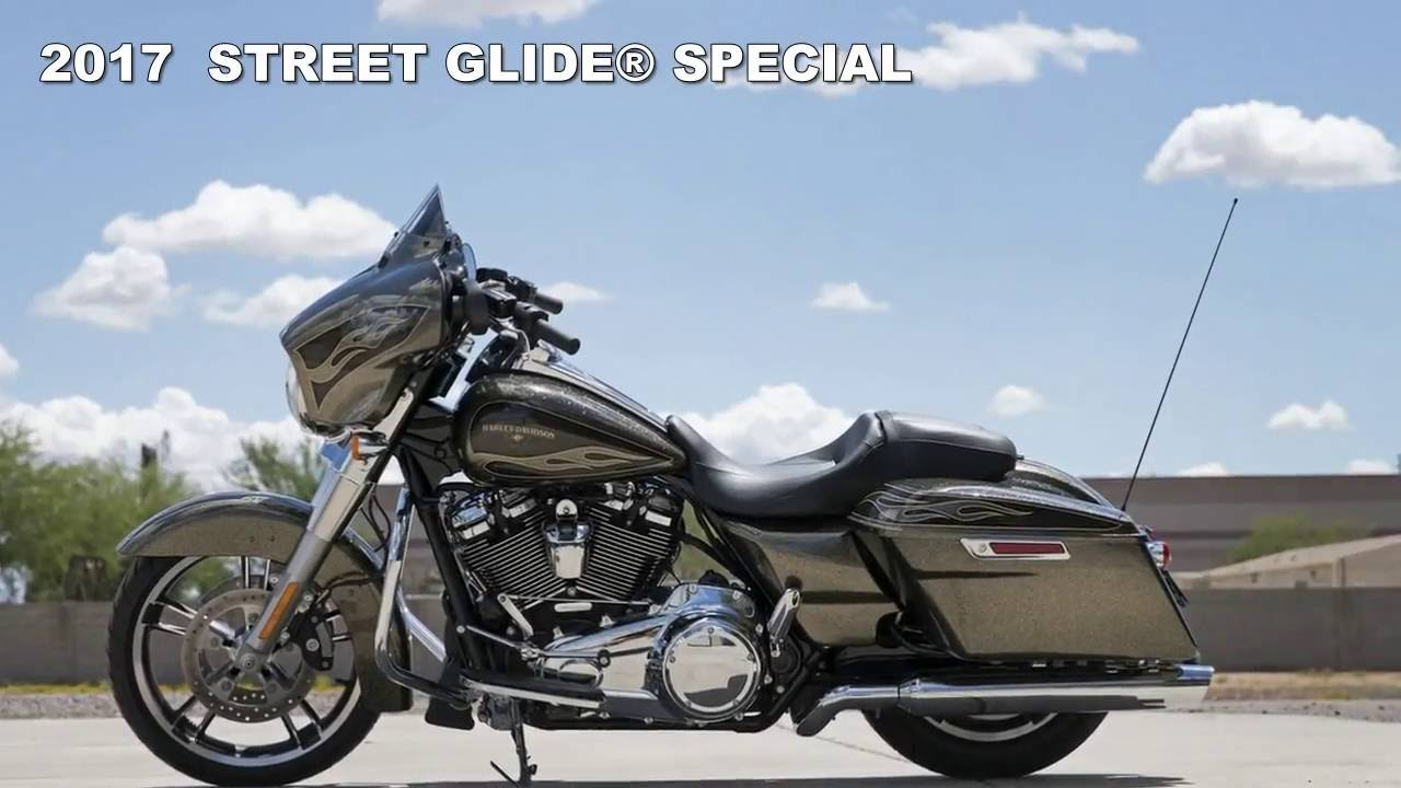 The New 2017 Harley Davidson Street Glide Special