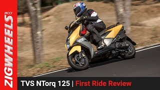 TVS NTorq 125 | First Ride Review | ZigWheels.com