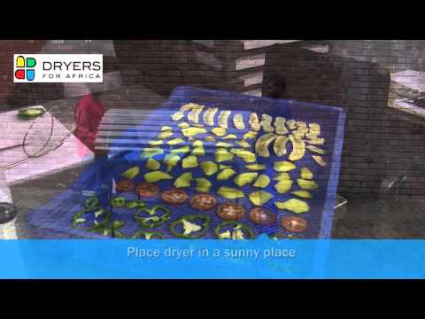Dryers for Africa - Solar drying