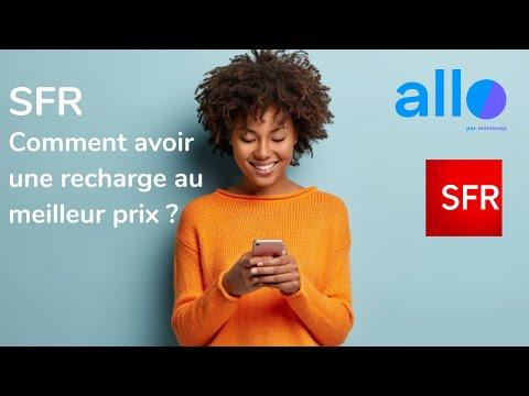Recharge Sfr Mobile En Ligne Comment Obtenir Du Crédit Au Meilleur Prix