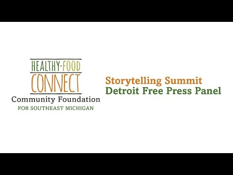 Healthy Food Connect Detroit Free Press Panel