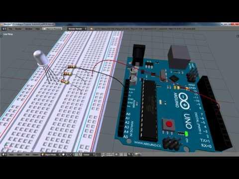 Como controlar un led RGB con PWM | Arduino