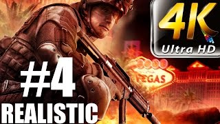 Rainbow Six Vegas - Realistic Walkthrough - (PC-4K) Part 4 - Calypso Casino 2/2