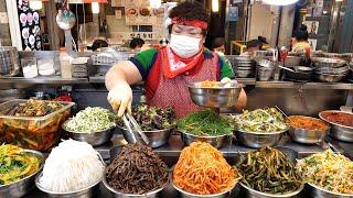Рынок Кванджан в Корее! Видео о вкусной еде. ТОП 12 / Корейская кухня