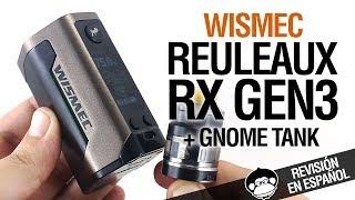 Wismec REULEAUX RX GEN3 / el superventas aún más pequeño / revisión