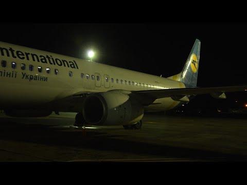 Ukraine International Airlines Boeing 737-900ER Full Flight From Kyiv To Tel Aviv