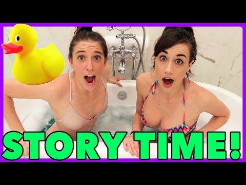 Bathtub Story Time!