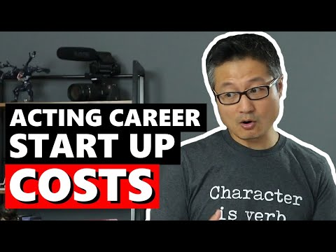 How Much Does it Cost to Become an Actor?