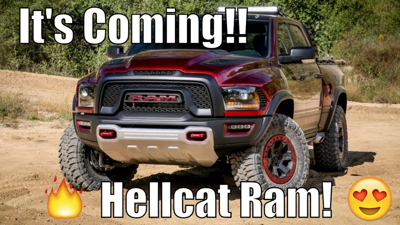 Ram Srt 10 >> 2019 Hellcat Ram SRT 1500 LEAKED!! *Dodge At It Again!* - YouTube