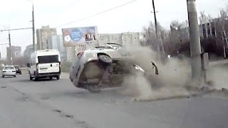 Russian Car crash compilation April 2016 week 3