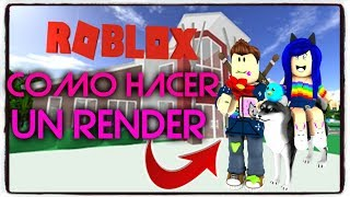 HOW TO MAKE A RENDER FOR YOUR THUMBNAILS - ROBLOX