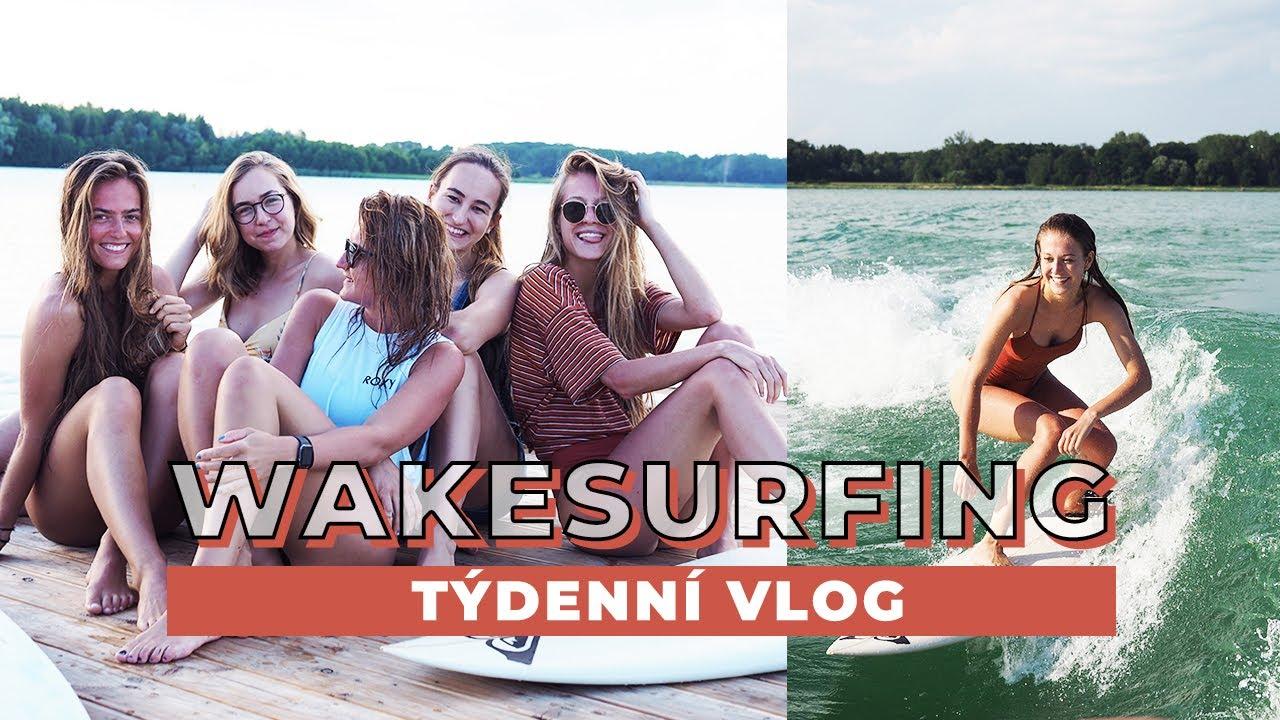 TÝDENNÍ VLOG #40 | Surfování v Česku!