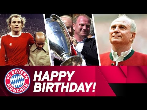 Happy 65th Birthday, Uli Hoeneß!