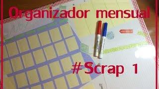 Cómo hacer un Organizador #Scrapbooking 1