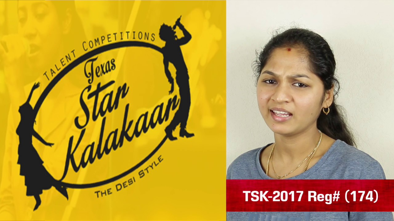Introduction Promo - Texas Star Kalakaar 2017 - Reg #174