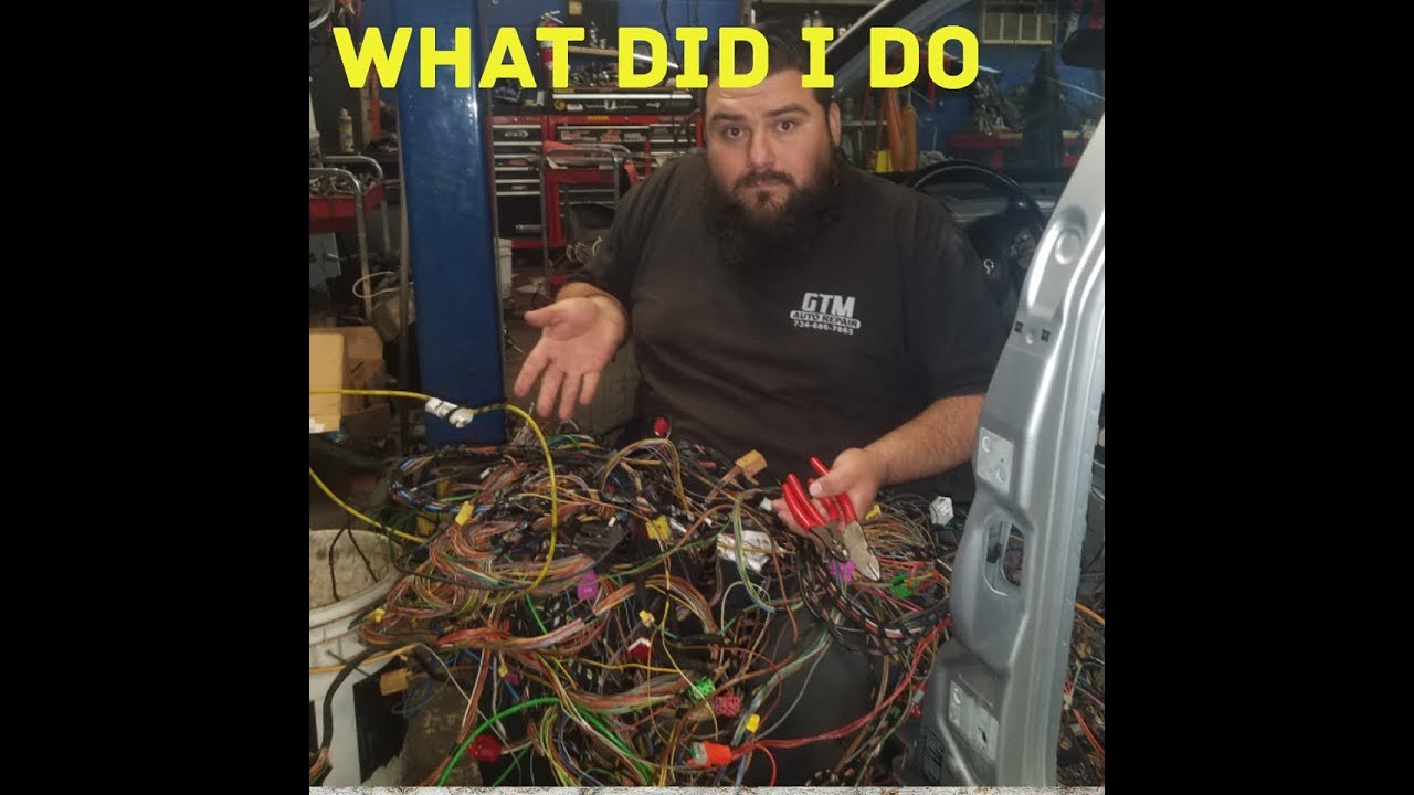 audi b5 s4 wiring harness nightmare (exo car)