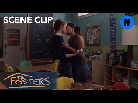The Fosters | Season 5, Episode 12: Ximena And Callie Kiss | Freeform