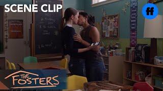 The Fosters | Season 5, Episode 12: Ximena And Callie Kiss | Freeform
