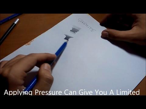 Graphite Pencil Vs. Charcoal Pencil