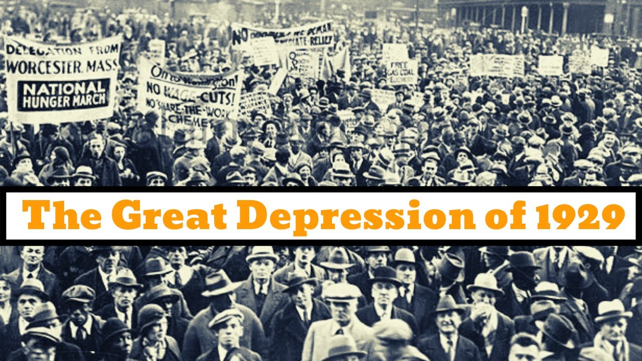 The Great Depression of 1929 - YouTube